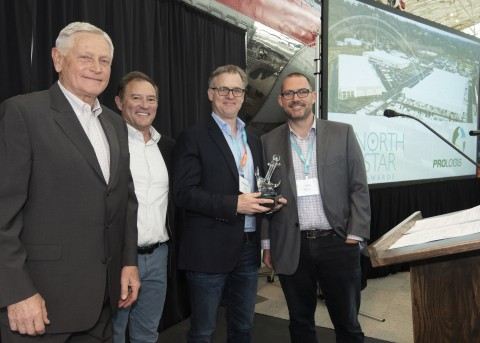 Prologis received the Cargo Anchor Award, which recognizes businesses for activities that grow cargo volume in the NWSA gateway and drive economic activity for the Puget Sound region.